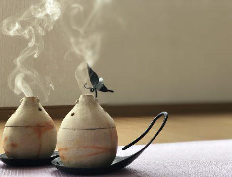 【メニュー】麻炭香による温熱ヒーリング
